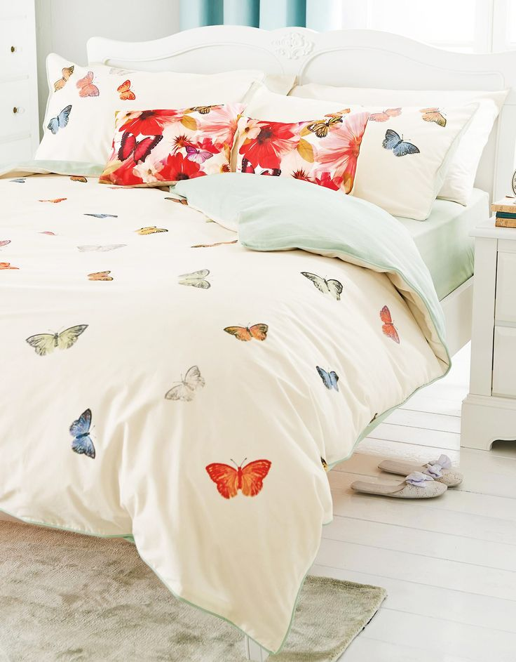 Bright butterfly bedding from Next