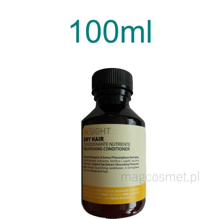 Insight Dry Hair Odżywka do Włosów Suchych 100ml Kosmetyki do włosów - odżywki- Sklep Magcosmet