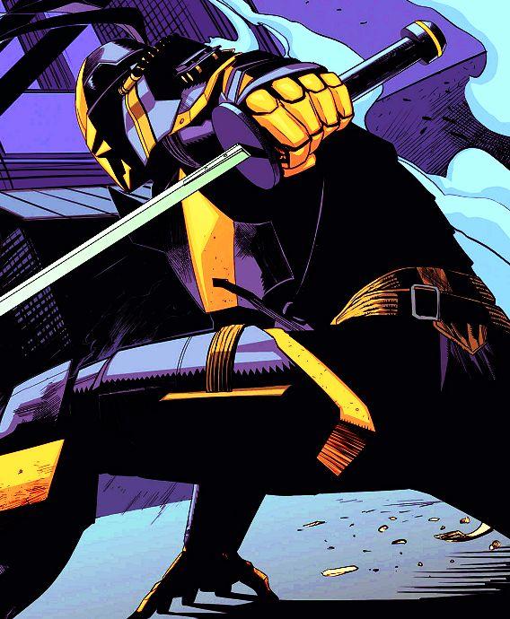 Deathstroke in Batman: Arkham Knight Genesis #2