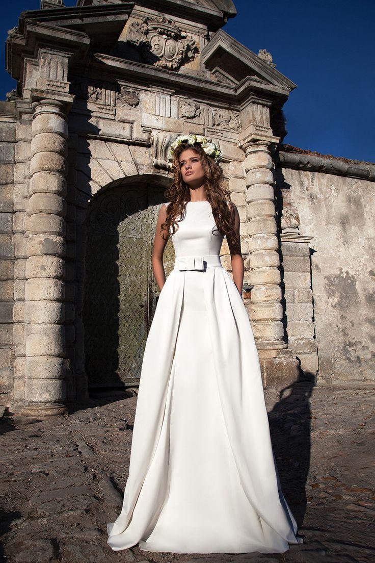 Свадебное платье «Бертрани с юбкой» Ариамо Брайдал— купить в Москве платье Бертрани с юбкой из коллекции 2016 года