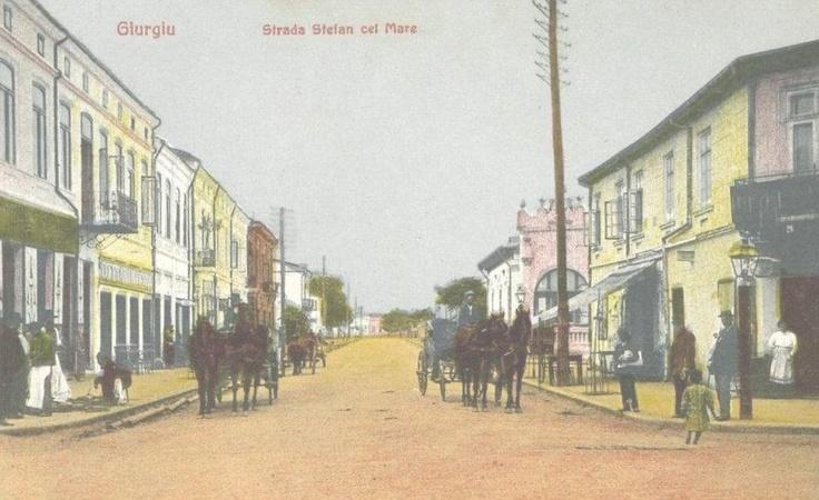 Giurgiu - Strada Stefan cel Mare - antebelica