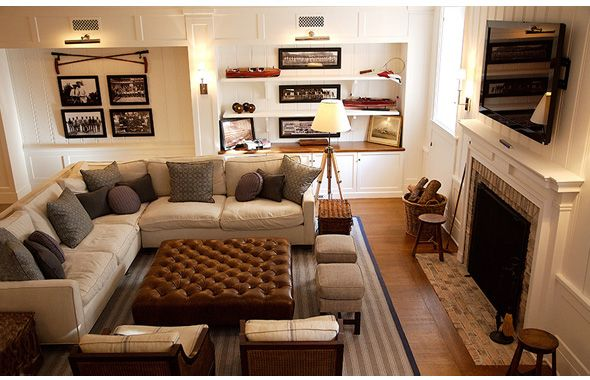 the sectional couch | decor | CECY j -Splendid Living- Creating the Spirit of Your Home