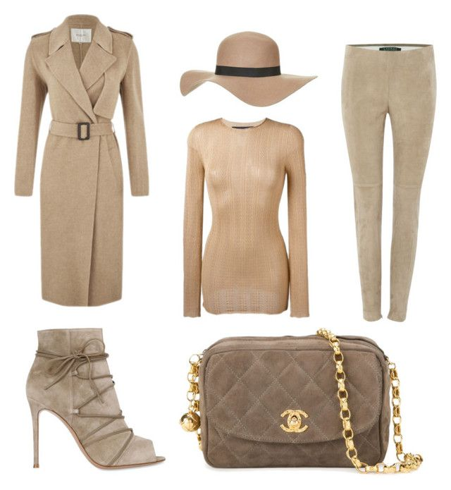 Winter Essentials by zarastylinghq on Polyvore featuring polyvore, fashion, style, Gucci, SELECTED, Lauren Ralph Lauren, Gianvito Rossi, Chanel, Topshop and clothing
