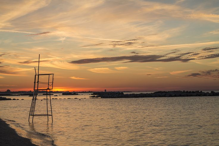 Sunset limited. #Cattolica #Beach #Italy #EmiliaRomagna