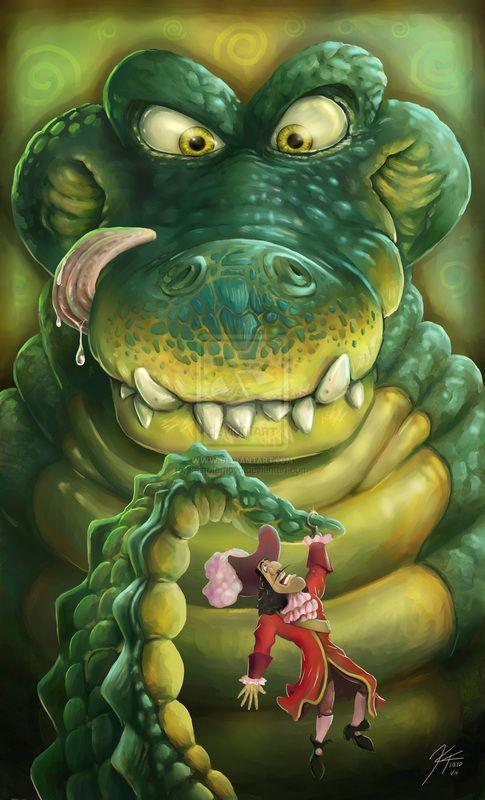 Kris Floyd's newest piece Hook's Dinner time nightmare Rapunzelscrafts.weebly.com
