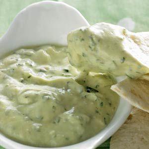 Avocado-yoghurtdip