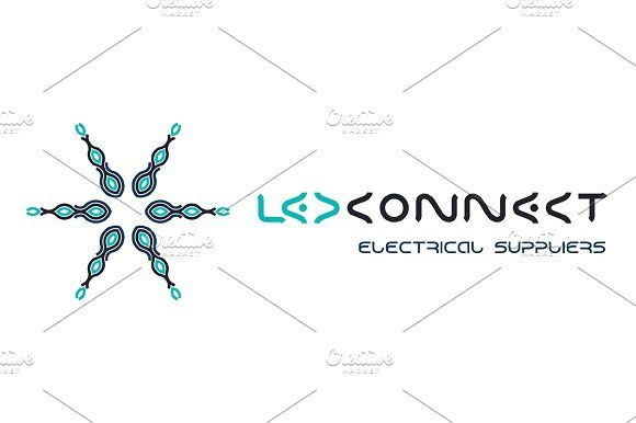 Led Connect Electrical Suppliers by LuisFaus on @creativemarket