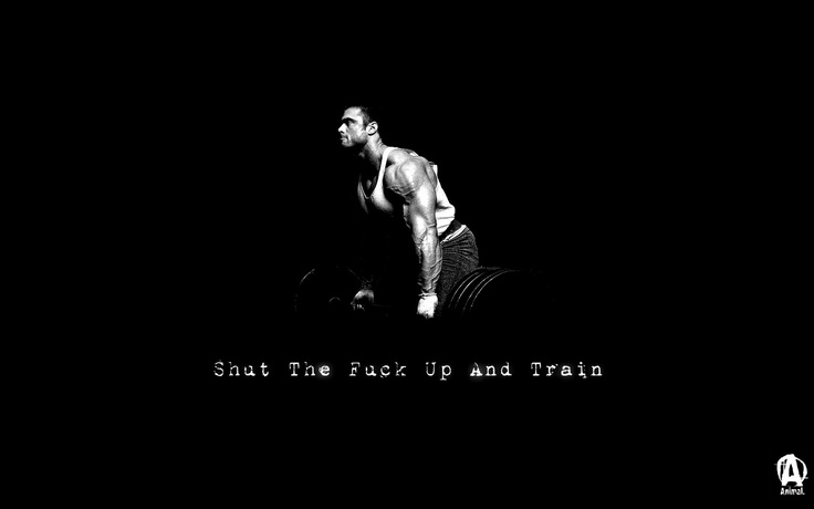 STFU and train! on Uduman's funny picturesTraining, Inspiration, Workout Motivation, Work Out, Gym, Shut Up, Fit Motivation, Bodybuilding Motivation, Trains