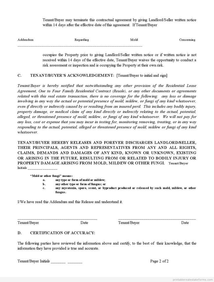 Letter Of Remediation Sample