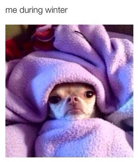 Me during winter