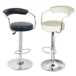 Bar Stools UK - Black and Cream Faux Leather Bar Stool  sc 1 st  Pinterest & The 25+ best Bar stools uk ideas on Pinterest | Kitchen stools uk ... islam-shia.org