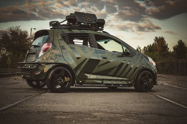 Enemy To Fashion imagines what Chevy Spark would look like ...