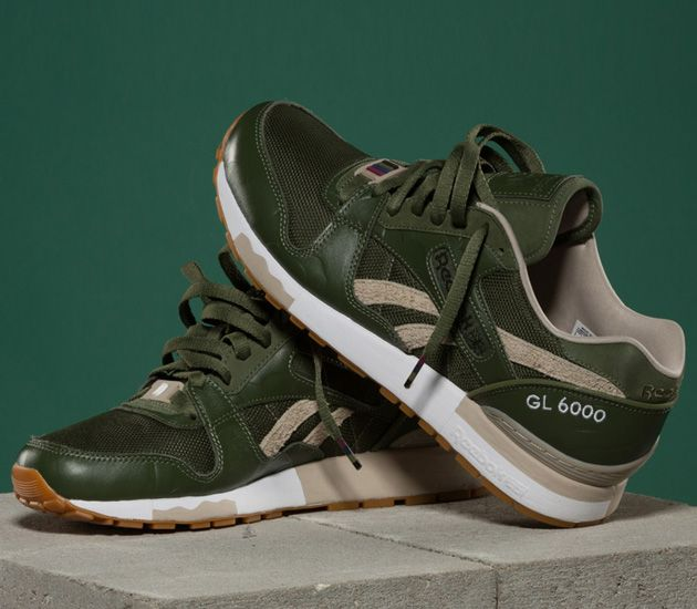 Reebok Green Sneakers