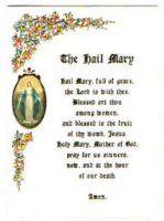 The Hail Mary Blank Gift Card.
