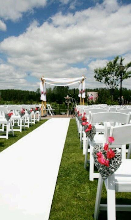 25 beste idee n over tuin bruiloft decoraties op for Bruiloft decoratie zelf maken