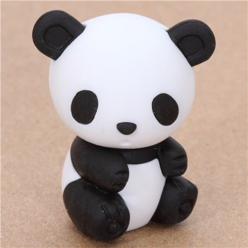 Japanese panda eraser from Iwako