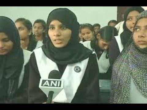 Watch Muslim girl Afreen Rauf wins Gita recitation competition