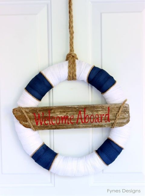 Nautical Decor- Wreath... and a day by the ocean