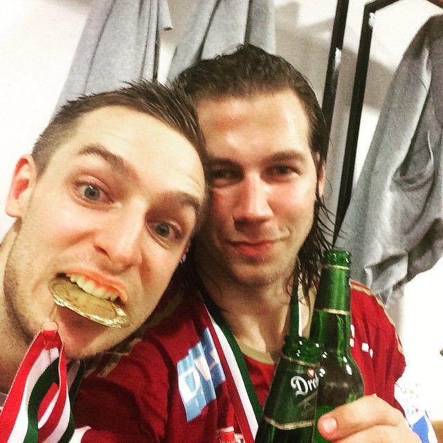 Vinner ligan! Firas mee mat och kanske 1 öl ! #champions #liga #veszprem #gold #winners #handboll #handball #öl @gaspermarguc