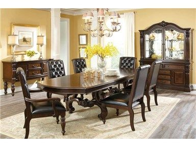 Magnificient Details Give The Grace Dining Group A Grand And Stately Character Thats Sure To Create