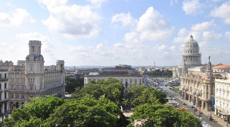 Een geweldig uitzicht over de stad Havana, Cuba. Mooie foto, reporter Nicole!