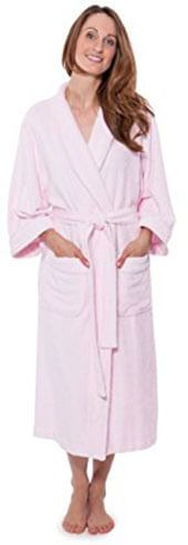 Texere Eco-Friendly Women's Terry Cloth Bathrobe