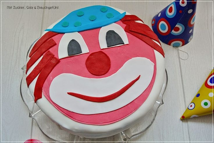 clown kuchen rezept