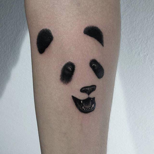 363 best panda tattoos images on pinterest. Black Bedroom Furniture Sets. Home Design Ideas