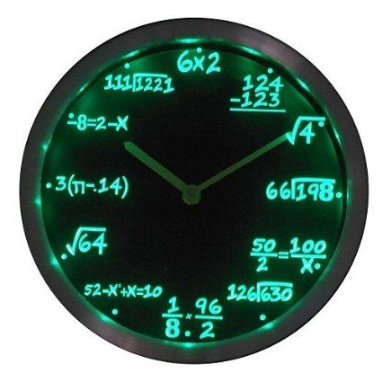Math-Class-LED-Wall-Clock-3