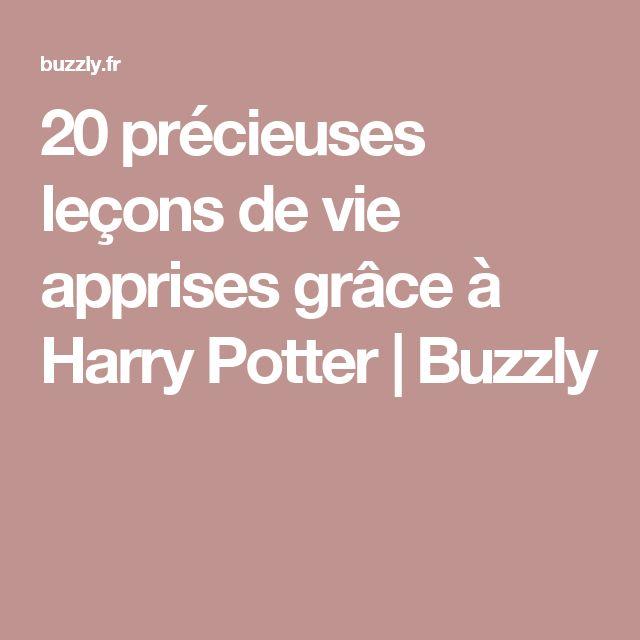 20 précieuses leçons de vie apprises grâce à Harry Potter | Buzzly