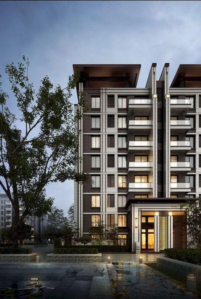 51 Awesome Modern Facade Apartment Decor Ideas Facade