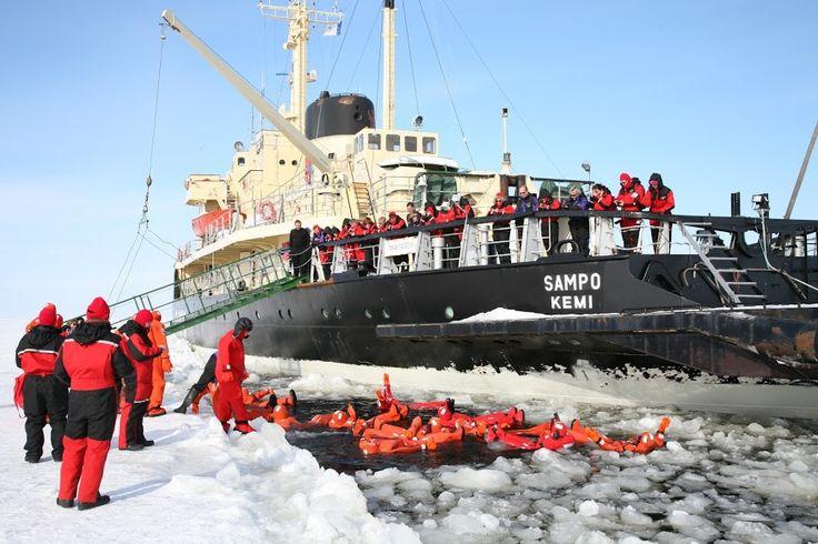 Sampo icebreaker, Finland.