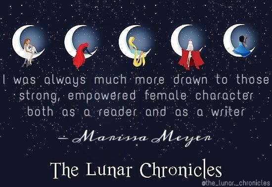 We love you Marissa Meyer  Follow the_lunar._chronicles on instagram more cool edits like this