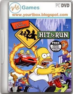 Simpsons Hit And Run PC Game Free Download - Free Full Version PC Games and Softwares