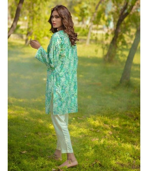 Digital Lawn- Summer Fantacy Kurti Collection By Alkaram DL_17