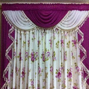 Resultado de imagen para cortinas drapeadas entrelazadas