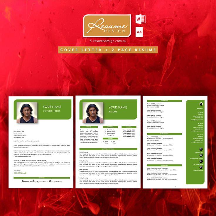 best 25  resume template australia ideas on pinterest