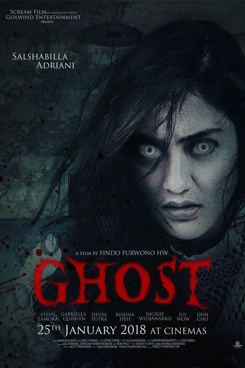 Ghost 2018 Horror Movie Posters Bioskop Film Horor