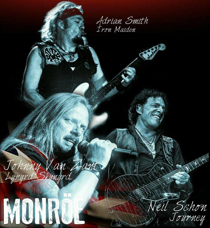 ... Un dia como hoy, se celebra un año mas de vida de 3 de los grandes del rock!!  #AdrianSmith #IronMaiden ; #NeilSchon #Journey y #JohnnyVanZant #LynyrdSkynyrd ... #HBD #MetalMonsters #RockIcons #RockForEver #HappyMetalAniversary