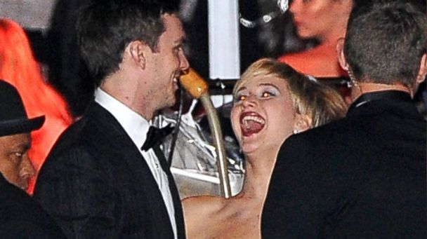 Inside Jennifer Lawrence and Nicholas Hoult's Golden Globes Date Night