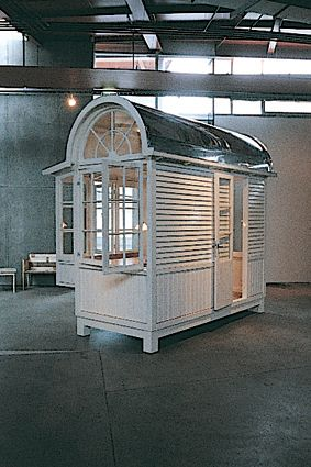 A sauna for the garden