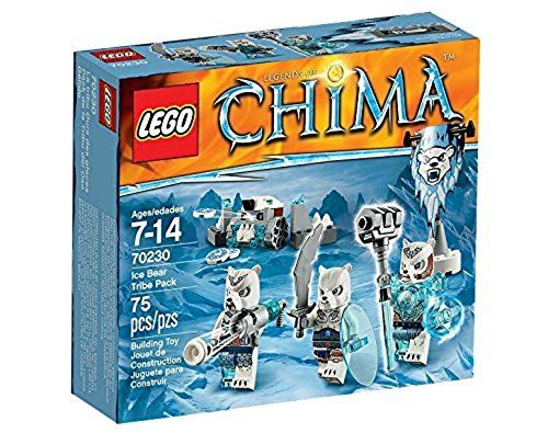 From 3.00 Lego Chima 70230: Ice Bear Tribe Pack