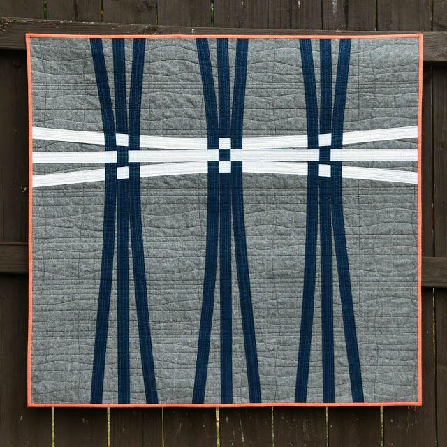 Warp and Weft - American Patchwork & Quilting Nine-Patch Challenge Quilt