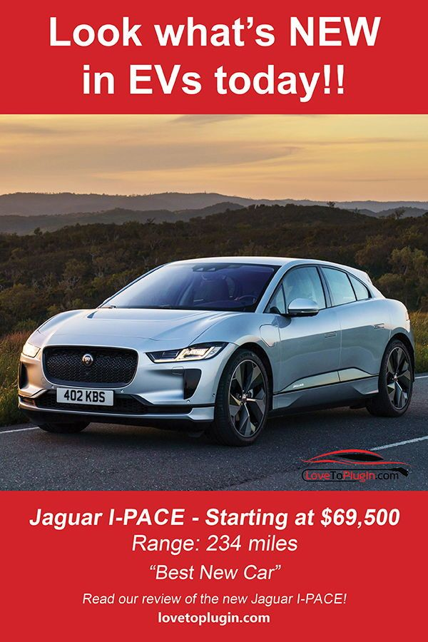 Jaguar I Pace Is Best New Car And An Absolutely Stunning