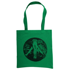 Earth Lovers Tote by Pony Attack:  Eco Friendly tote/shopping bag made from 50% recycled plastic bottles.: Recycled Plastic Bottle