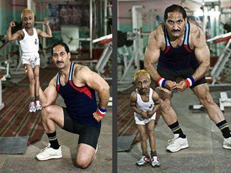 दुनिया के सबसे छोटे एथलीट देखिए तस्वीरे