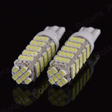 1Pcs Super Bright T10 68LED 1206 68 SMD LED Car 68smd 3020 W5W 194 927 168 Side Wedge Lamp Marker Bulb License Plate Light DC12V   Features: Give your vehicle a whole new exotic look that could found only on high-end luxury vehicles Wide angle lighting Long service life, up to 80,000 hours Super bright LED technology, provide up to 200% more light output than traditional LED bulbs Great for many applications around the vehicle Very low power consumption (less than 10% of standard halogen…