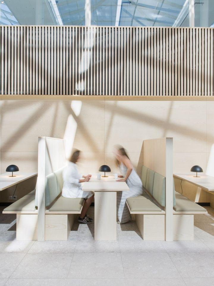 lysakerbuen office public areas canteen by zinc lysaker norway retail design blog - Commercial Interior Design Blog