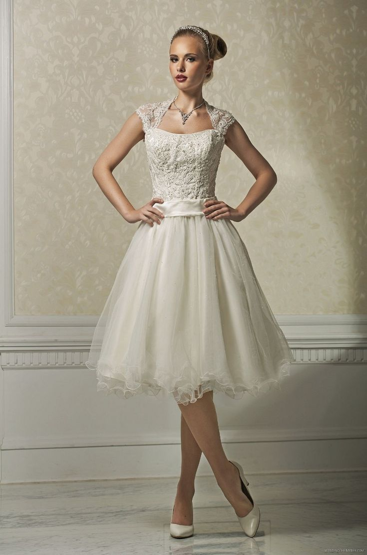 sleeve-knee-length-short-wedding-dresses-with-detachable-sleeve