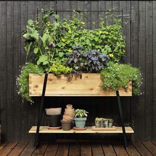 """""""Growing bench"""" from Hasselfors Garden."""